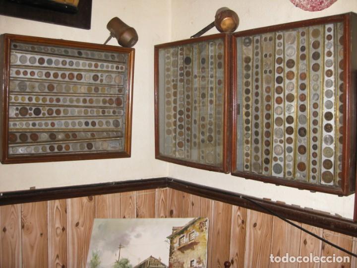 Monedas medievales: COLECCION PARTICULAR DE MONEDAS - ONCE CUADROS QUE SE PUEDEN VER LAS MONEDAS DE LAS DOS CARAS - Foto 6 - 139718430