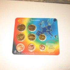 Monedas medievales: EMISION NACIONAL DEL EURO DEL 2003. Lote 140375974