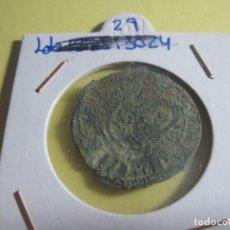 Monedas medievales: MONEDA MEDIEVAL DE BRONCE. Lote 142892802