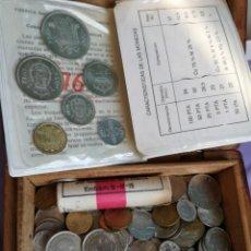 Monedas medievales: LOTE DE MONEDAS NACIONALES Y EXTRANJERAS. Lote 143050106