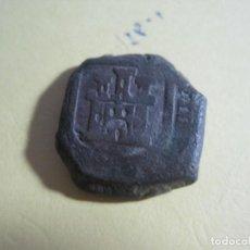 Monedas medievales: MONEDA MEDIEVAL DE BRONCE. Lote 143345746