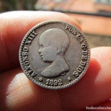 Monedas medievales: ALFONSO XIII . 50 CENTIMOS DE PLATA . AÑO 1892 . Lote 151296514