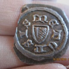 Monedas medievales: BRACKTEAT DE CIUDAD FORTIN METZ EN FRANCIA, UNICA CONOCIDA. Lote 151467306