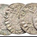 Monedas medievales: 5 MONEDAS CORONADOS SANCHO IV (1286 ,1295 ) ESTRELLA MUY RARAS. Lote 152372670