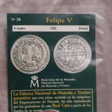 Monedas medievales: DEL REAL A LA PESETA II NÚMERO 38 FELIPE V. Lote 156914426