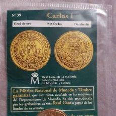 Monedas medievales: DEL REAL A LA PESETA II NÚMERO 39 CARLOS I. Lote 156914710