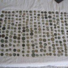 Monedas medievales: INTERESANTE LOTE DE 275 MONEDAS DE TODO UN POCO. Lote 157005814