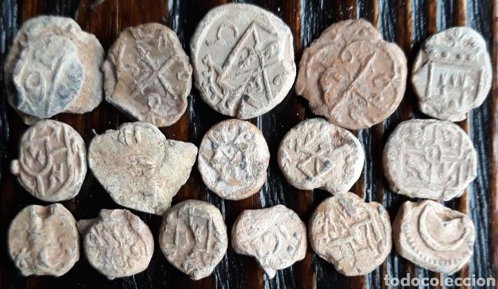 LOTE 16 MARCHAMOS O PRECINTOS MEDIEVALES (Numismática - Hispania Antigua- Medievales - Otros)