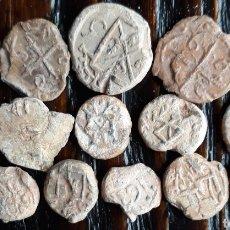 Monedas medievales: LOTE 16 MARCHAMOS O PRECINTOS MEDIEVALES. Lote 157886233