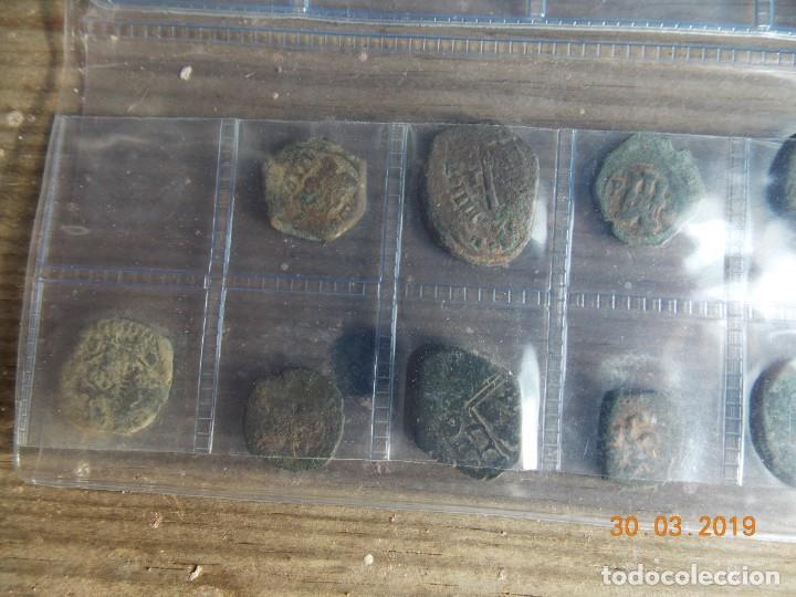 Monedas medievales: 32 resellos medievales - Foto 5 - 159281662