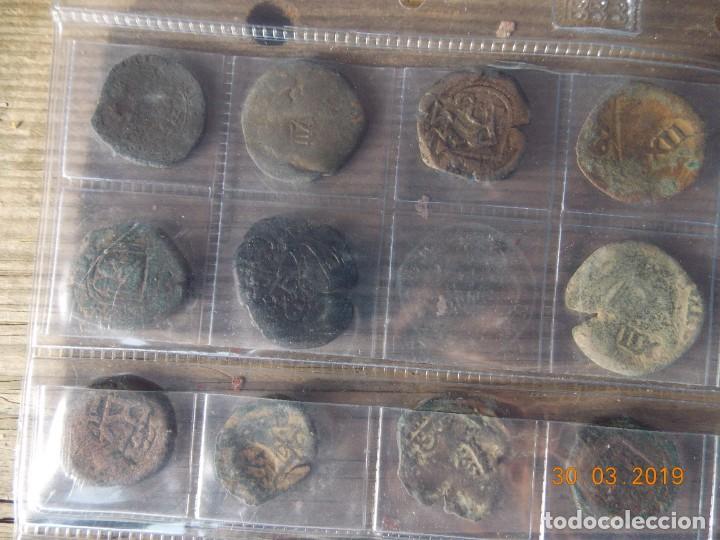 Monedas medievales: 32 resellos medievales - Foto 7 - 159281662