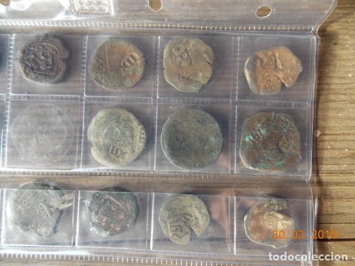 Monedas medievales: 32 resellos medievales - Foto 8 - 159281662