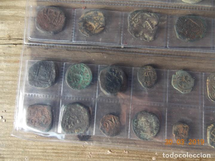 Monedas medievales: 32 resellos medievales - Foto 9 - 159281662