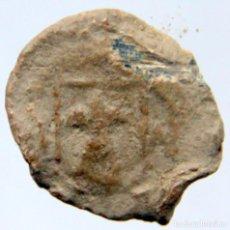 Monedas medievales: E347 CATALUÑA - SELLO/BOLLA DE PLOMO MEDIEVAL A IDENTIFICAR - ESCUDO HERALDICO. Lote 164643578