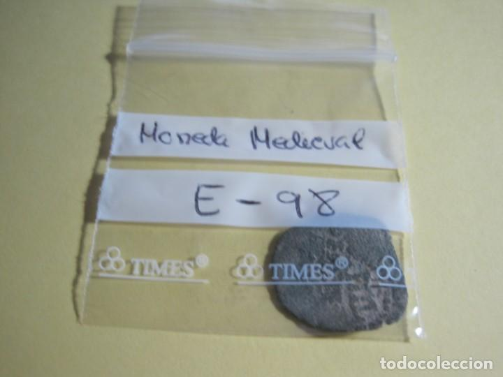Monedas medievales: MONEDA MEDIEVAL DE BRONCE-REF-E-98 - Foto 3 - 169410828