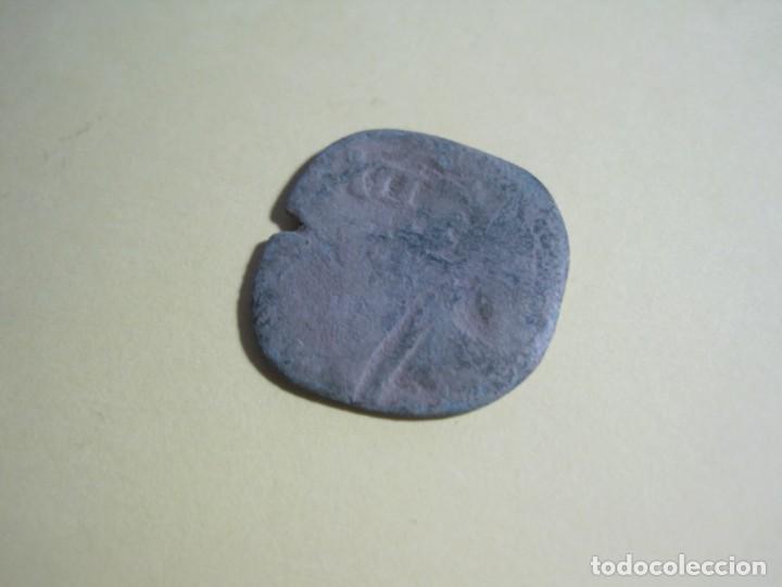 MONEDA MEDIEVAL DE BRONCE-REF-E-102 (Numismática - Hispania Antigua- Medievales - Otros)