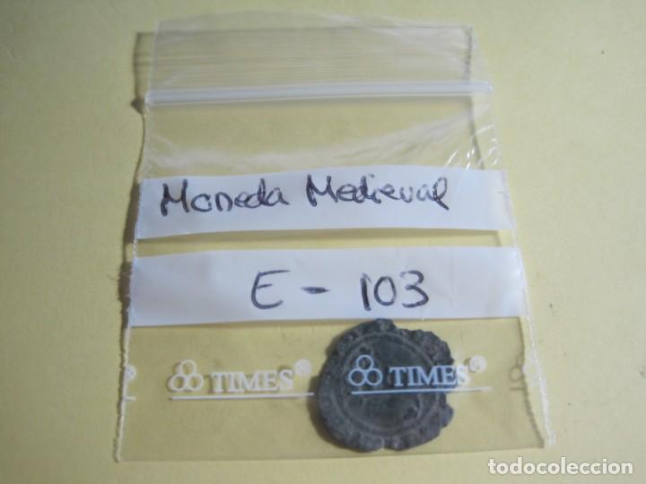Monedas medievales: MONEDA MEDIEVAL DE BRONCE-REF-E-103 - Foto 2 - 169413044