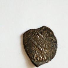 Monedas medievales: MONEDA PLATA 2 REALES MACUQINOS POTOSÍ EN FORMA DE CORAZÓN. Lote 169952902