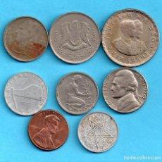Monedas medievales: OCHO MONEDAS VARIAS . Lote 171512640