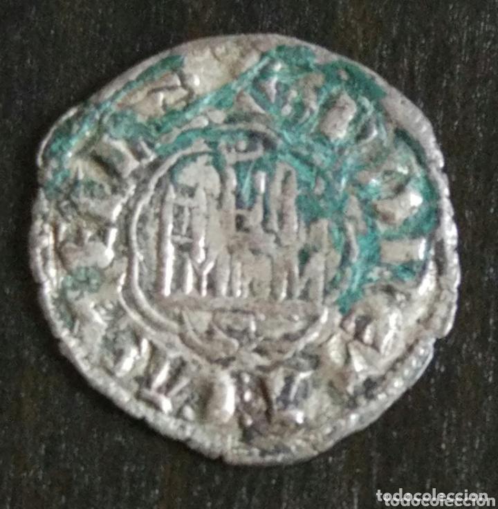 NOVEN DE VELLÓN ALFONSO X (1252-1284) CERCA DE SEVILLA (Numismática - Hispania Antigua- Medievales - Otros)