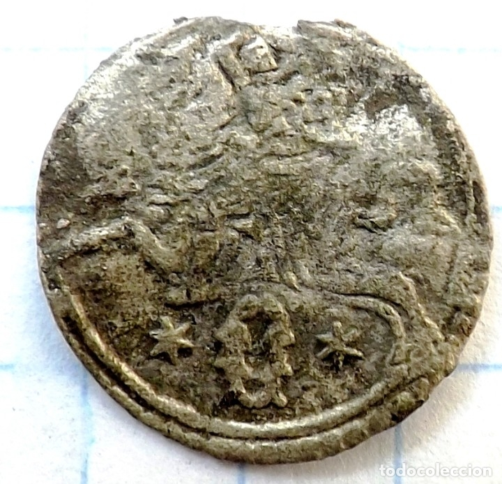 MEDIEVAL COIN ORIGINAL 1620 (Numismática - Hispania Antigua- Medievales - Otros)