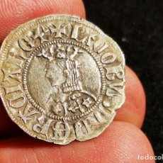 Monedas medievales: JAUME II (1291-1327) CROAT - BARCELONA. MONEDA MEDIEVAL EN PLATA .ESPECTACULAR. Lote 203137322
