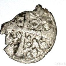 Monedas medievales: TROZO DE UNA MONEDA DE PLATA. Lote 179109633