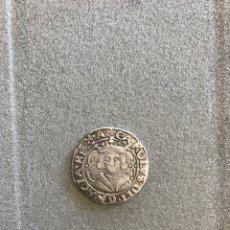 Monedas medievales: REAL DE PLATA DE VALENCIA DECIOCHENO CARLOS II. Lote 179231708