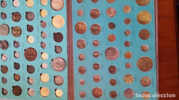 Monedas medievales: COLECCION 40 MONEDAS DRACMA DENARIO SESTERCIO SEMIS FOLLIS DIRHAM DUCADO REAL MARAVEDIS ESCUDOS AS - Foto 2 - 180045022