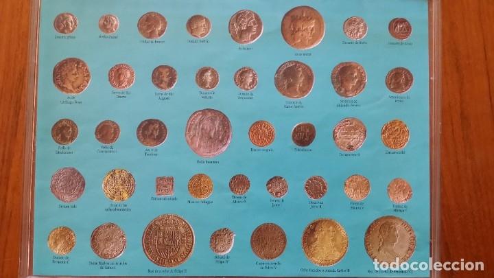 Monedas medievales: COLECCION 40 MONEDAS DRACMA DENARIO SESTERCIO SEMIS FOLLIS DIRHAM DUCADO REAL MARAVEDIS ESCUDOS AS - Foto 3 - 180045022