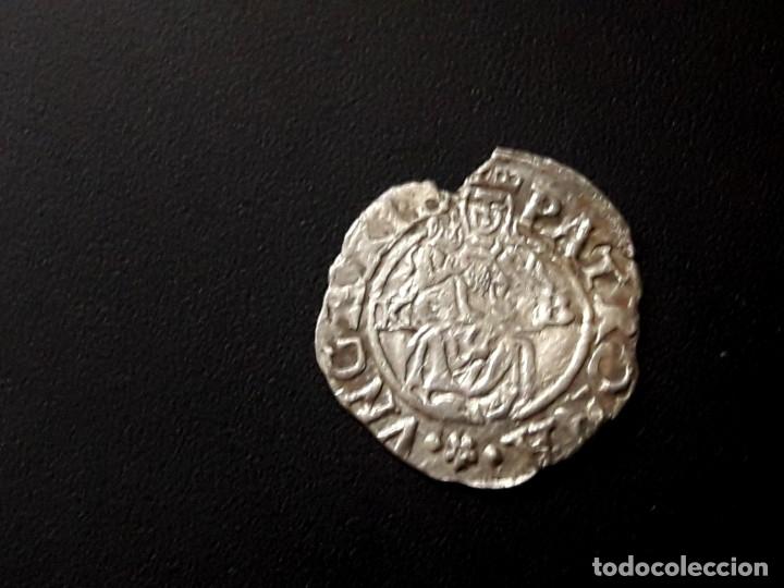 HUNGARY SILVER DENAR. AÑO 1577 DENARIO MEDIEVAL DE HUNGRIA (Numismática - Hispania Antigua- Medievales - Otros)
