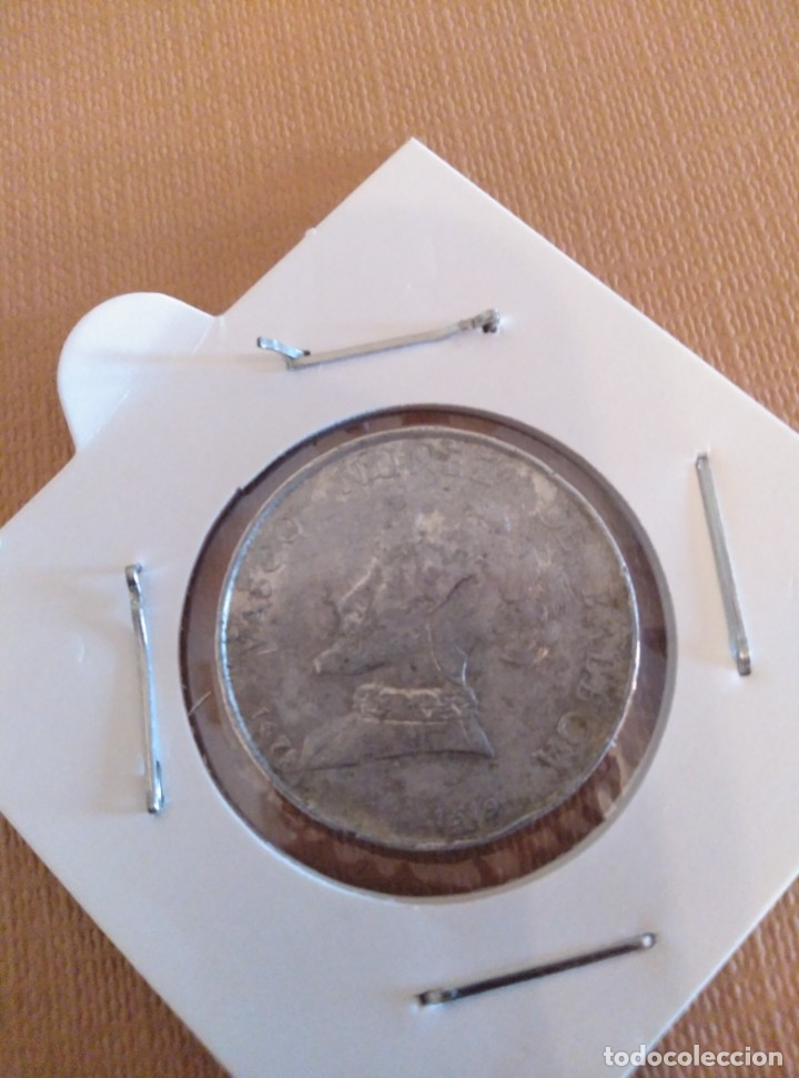 MONEDA DE VASCO NÚÑEZ DE BALBOA (Numismática - Hispania Antigua- Medievales - Otros)