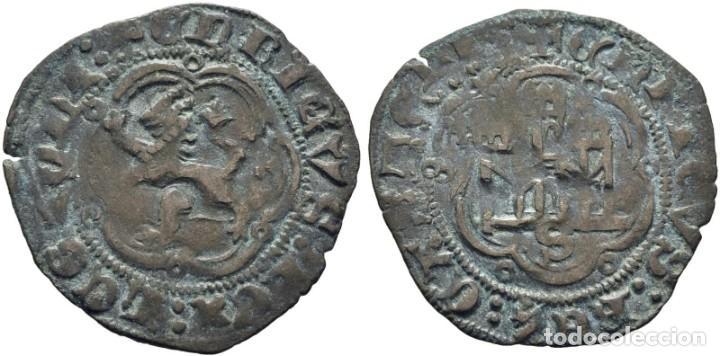 ENRIQUE III. SEVILLA. BLANCA. 1390-1406. EBC- (Numismática - Hispania Antigua- Medievales - Otros)