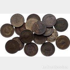 Monedas medievales: LOTE DE 17 MONEDAS HUNGRIA. 2 FILLER 1893- 1915 ... Lote 185884582