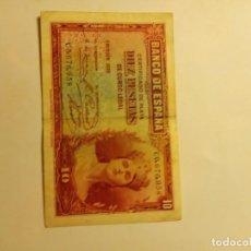 Monedas medievales: BILLETE DE 10 PESETAS...1935. Lote 186242206
