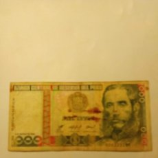 Monedas medievales: BILLETE 1000 INTIS...PERU 1986. Lote 186244955