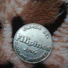 Monedas medievales: FICHA FILIPINOS LOSTE ENERGÍA CHOCOLATE. Lote 187463566