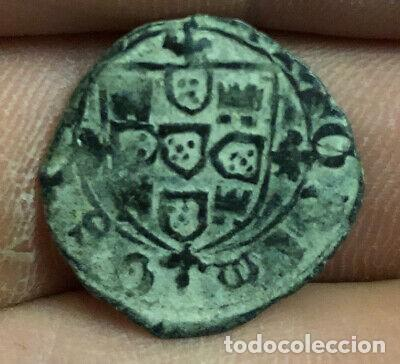 ANTIGUA MONEDA MEDIEVAL CEITIL PORTUGAL. (Numismática - Hispania Antigua- Medievales - Otros)