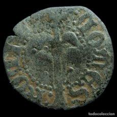 Moedas medievais: ALFONSO IV, DINERO DE PERPIGNAN (1416 - 1458) - 15 MM / 0.5 GR.. Lote 190209530