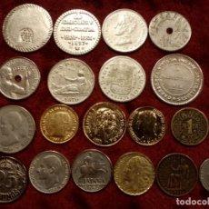 Monedas medievales: MONEDAS ESPAÑOLAS. REPLICAS!. Lote 191402795