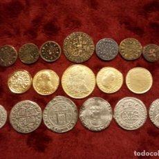 Monedas medievales: MONEDAS MEDIEVAL. REPLICAS!. Lote 191402998