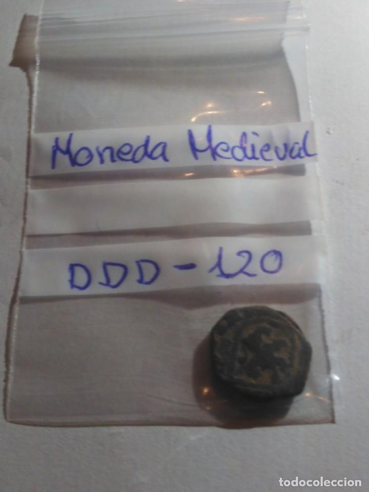 Monedas medievales: MONEDA MEDIEVAL REF - DDD - 120 - Foto 3 - 193981228