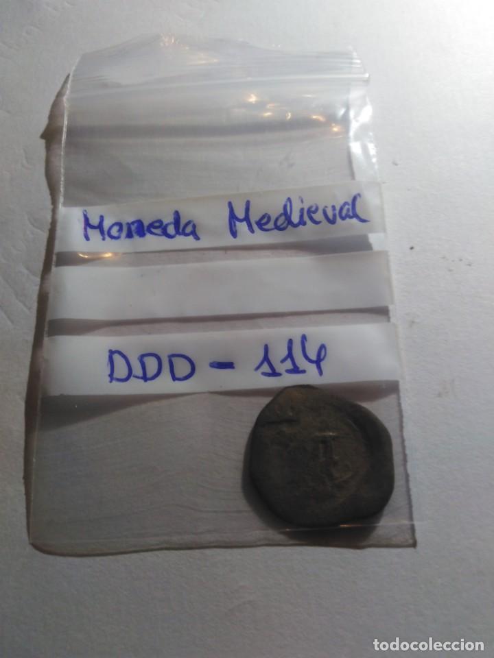 Monedas medievales: MONEDA MEDIEVAL REF - DDD - 114 - Foto 3 - 193981438