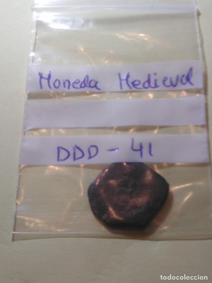 Monedas medievales: MONEDA MEDIEVAL REF - DDD - 41 - Foto 3 - 194255546