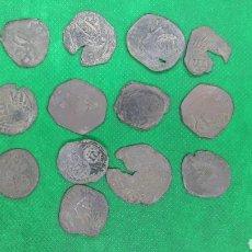 Moedas medievais: PRECIOSO LOTE DE 13 MARAVEDIES. Lote 194973143