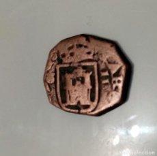 Monedas medievales: MONEDA 2 MARAVEDIES?. Lote 195043990