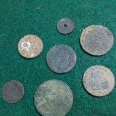 Monedas medievales: LOTE DE MONEDAS ANTIGUAS ESPAÑOLAS MEDIVALES. Lote 197072416