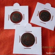 Monedas medievales: LOTE 3 MONEDAS. CREO QUE SON MEDIVALES. VER FOTOS........ Lote 197223866