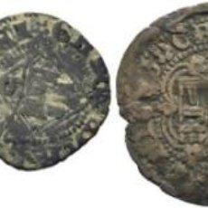 Monedas medievales: ENRIQUE III. SEVILLA. BLANCA. 1390-1406. CY1499. Y DOS DINEROS DE ENRIQUE IV. LOTE DE TRES PIEZAS 3. Lote 199058142