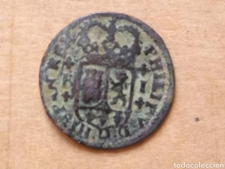MONEDA MEDUEVAL FELIPE V ESPAÑA (Numismática - Hispania Antigua- Medievales - Otros)
